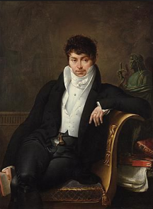 Hugh, Baron Overton = Portrait of Pierre Jean George Cabanis (by Merry-Joseph Blondel)